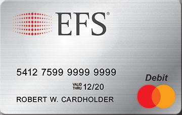 EFS Pay Card